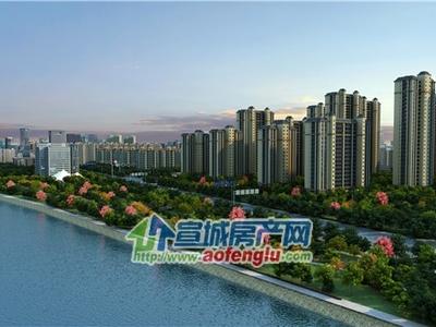 滨江花园;边套,最好楼栋,电梯房6楼,116平米,四室两厅,简装,售价87.8万