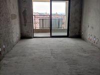 贝林和苑3室2厅2卫三个阳台带七字转角阳台毛胚无税115.23平米101万