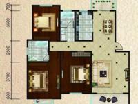 康桥风景 东门 3室2厅2卫 125平米 南北通透 无税 户型好