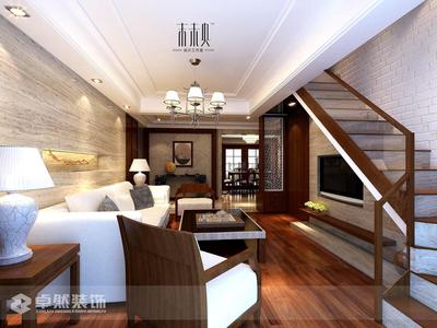 美都新城复式楼 4室2厅 精装修 使用面积200多平米 有阳光房